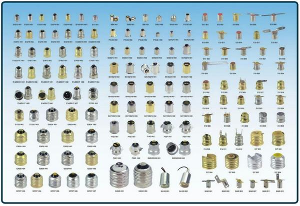 Как определить какой цоколь на лампочке